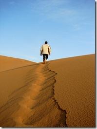 Traverser le desert