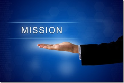 mission button on virtual screen